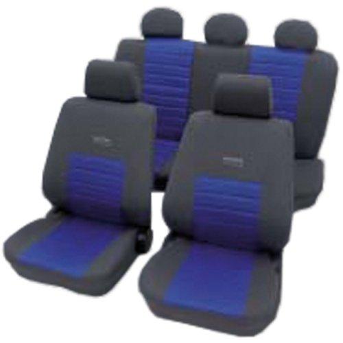 PETEX 22374805 Sitzbezugset Active Sports, für Seitenairbag, blau