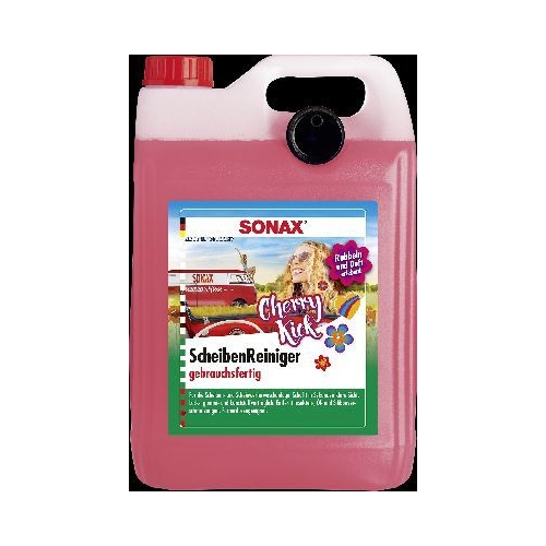 SONAX windscreen cleaner ready-to-use Cherry Kick 5 liters 03925000