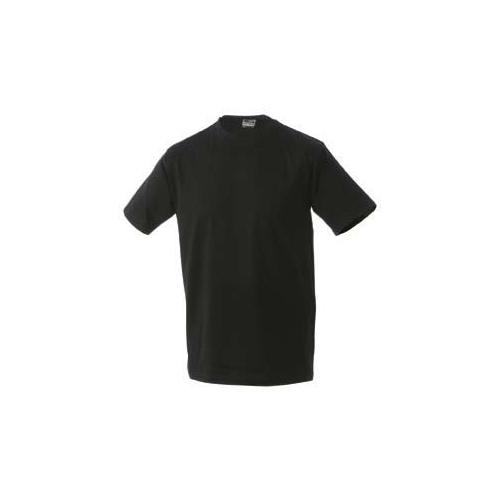 JAMES & NICHOLSON JN002 men's comfort T-shirt, black, size XL