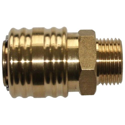 """EWO 308.041 Schnellkupplung, G 1/2"""" AG, DN 7,2"""