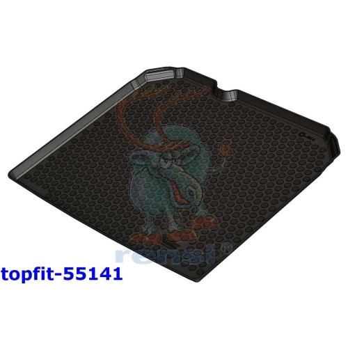 RENSI 55141 Kofferraumschalenmatte ohne Wend-/Ladeboden Gewicht 1400 g
