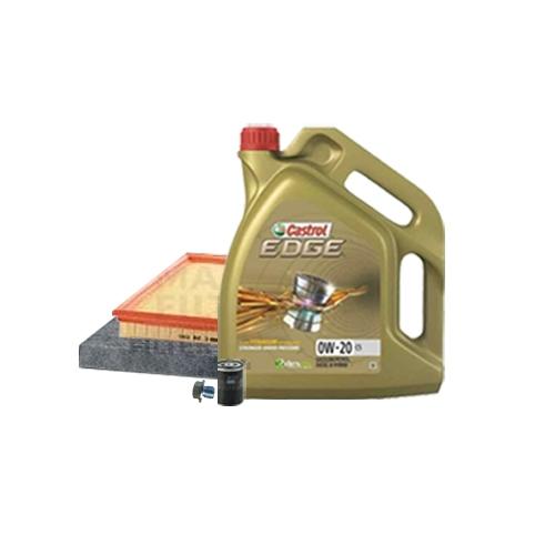 Inspektionskit Ölfilter und Innenraumluftfilter + Motoröl 0W-20 C5 5L