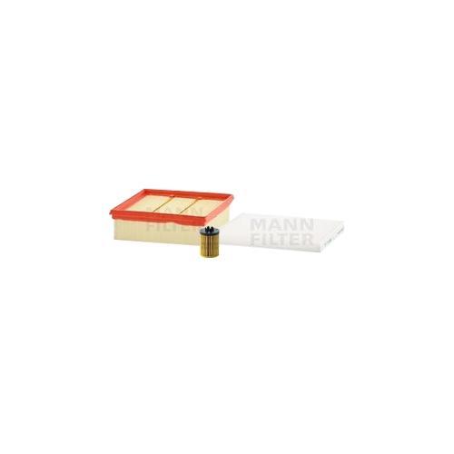 MANN-FILTER Filter Satz Ölfilter, Luftfilter und Innenraumluftfilter VSF0434MAN
