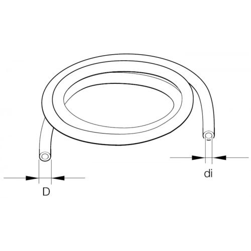 EBERSPÄCHER 89031125 fuel pipe Ø 6 x 2 mm, DIN 73378
