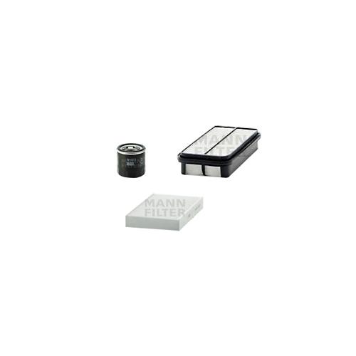 MANN-FILTER Filter Satz, Öl, Luft- und Innenraum- Aktivkohle Filter VSF0074MAN