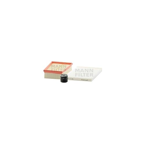 MANN-FILTER Filter Satz Ölfilter, Luftfilter und Innenraumluftfilter VSF0431MAN