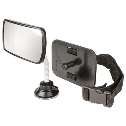 WALSER 26143 Baby observation mirror, inside mirror, black