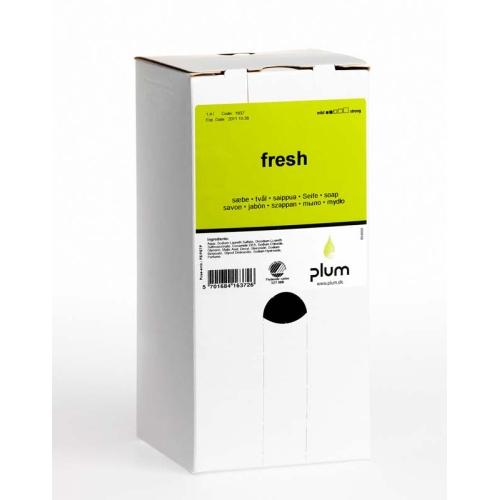 PLUM 1637 Cremeseife Handseife Fresh, Inhalt 1,4 Liter