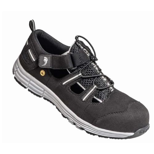BAAK 74112 Safety sandal S1 Rico2, black, size 47