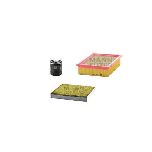 MANN-FILTER Filter Satz, Öl, Luft- und Innenraum-Filter Polyphenol VSF0081MAN