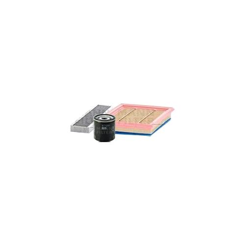 MANN-FILTER Filter Satz, Öl-,Luft und Innenraum Aktivkohle-Filter VSF0110MAN