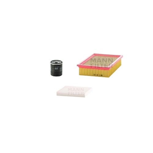 MANN-FILTER Filter Satz, Öl, Luft- und Innenraum-Filter VSF0079MAN