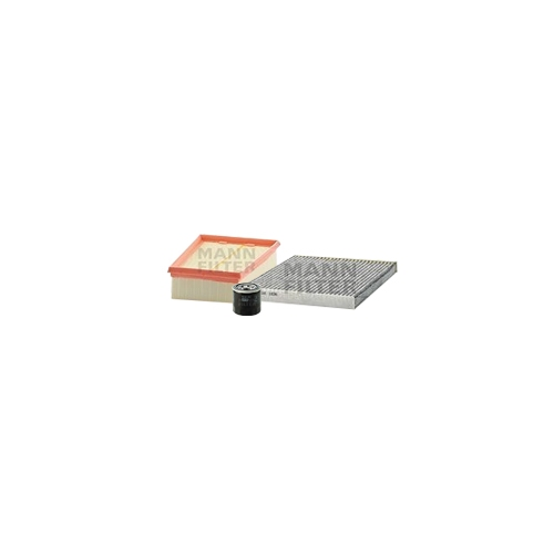 MANN-FILTER Ölfilter, Luftfilter und Aktivkohle Innenraumluftfilter VSF0432MAN
