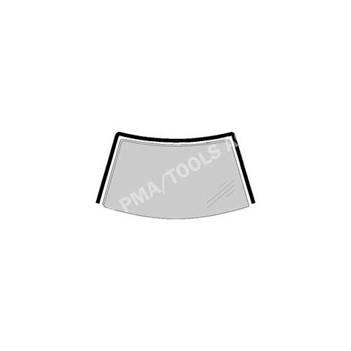 PMA TOOLS 244828131 Scheibenrahmen vorne, einteilig für Honda Accord VI
