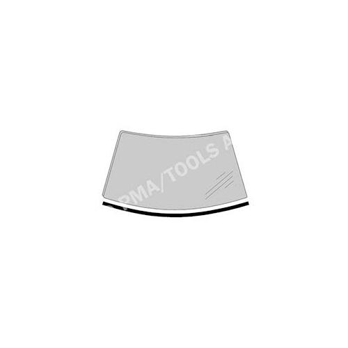 PMA TOOLS 356408132 Scheibenleiste vorne, einteilig unten für Opel Corsa C