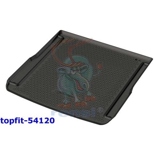 RENSI 54120 Kofferraumschalenmatte Gewicht 1800 g