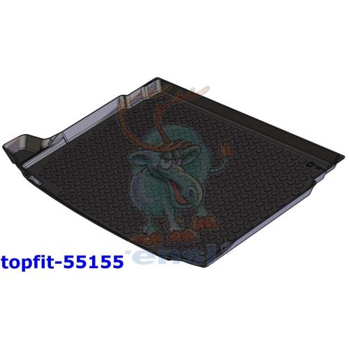 RENSI 55155 Kofferraumschalenmatte Gewicht 900 g