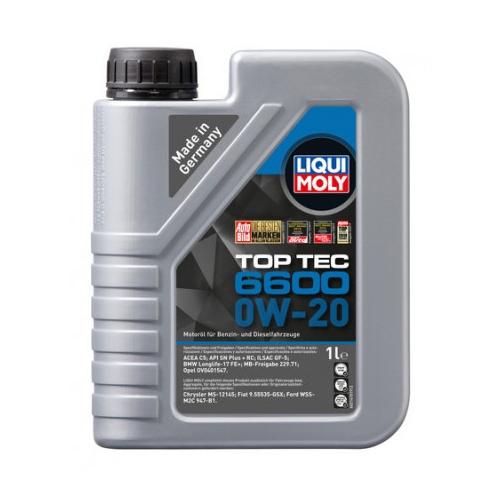 LIQUI MOLY TOP TEC 6600 0W-20 1L 21440