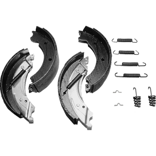 KNOTT 404115.001 Bremsbackensatz passend 30-2261, 30-2434 , Bremsgröße 300x60