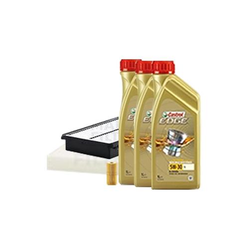 Inspektionskit Ölfilter, Luftfilter und Innenraumfilter + Motoröl 5W-30 LL 7L