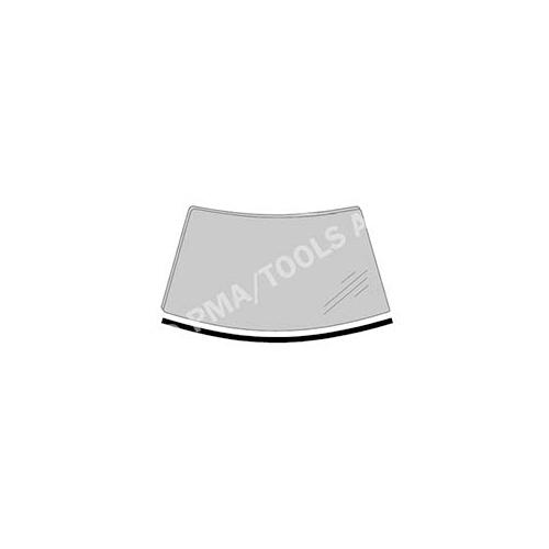 PMA TOOLS 392168133 Scheibenleiste vorne, einteilig unten für Renault Kangoo