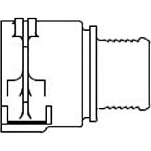 Kunzer spigot VDA 4 pieces KSR8008026