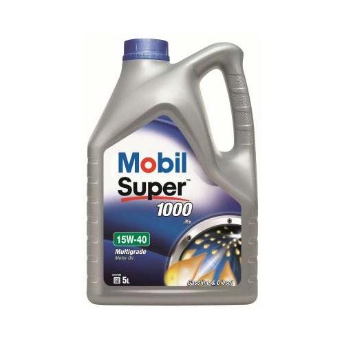 MOBIL Super, 1000 X1 Motoröl 15W-40 5 Liter 150560