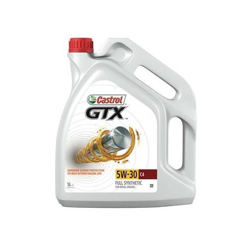 CASTROL engine oil GTX 5W-30 C4 5 liters 15901B