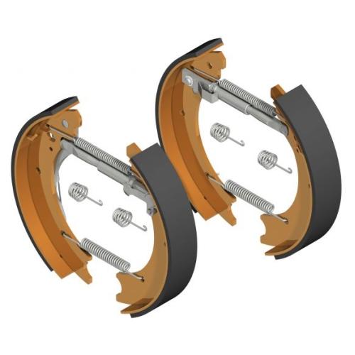 KNOTT Brake shoes Set brake type 25-4303 part nbr.:406166001