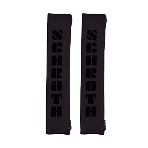 """Schroth Safety belt pads 2 """"50mm girth black with lettering 09309"""