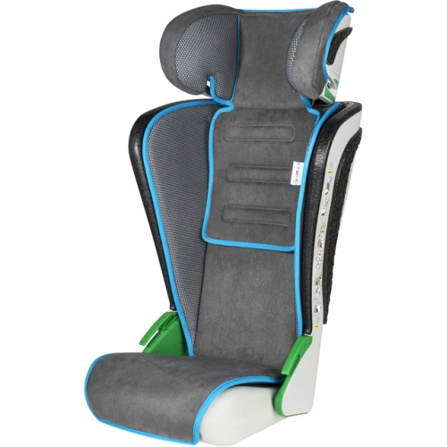 WALSER 15602 child seat Noemi, anthracite / blue