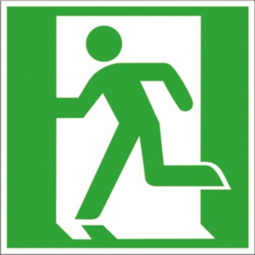 """SIGN SAFETY 38.0031 Kennzeichnung Fluchtwege """"Rettungsweg/Notausgang links"""""""
