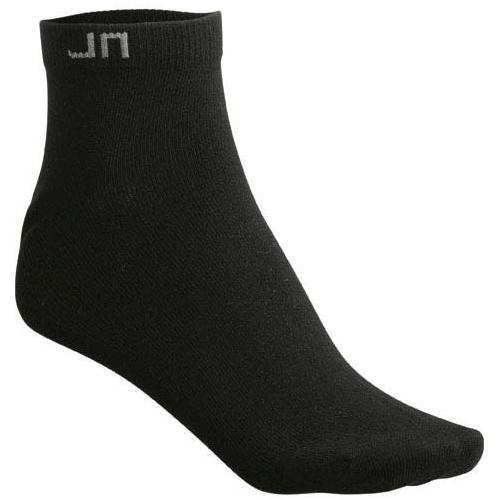 JAMES & NICHOLSON JN206 sneaker socks, black, size 35-38, 10 pairs