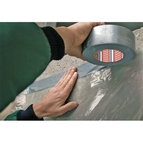 tesa 04662-00086-00 duct tape 4662, 48mm x 50m, silver matt