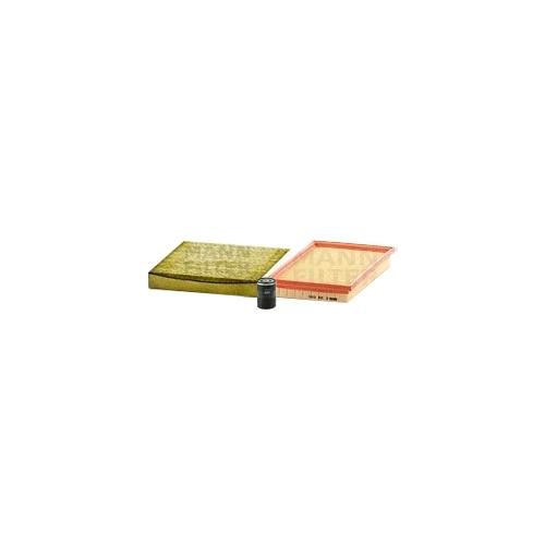 MANN-FILTER Filter Satz, Öl-,Luft und Innenraum Aktivkohle-Filter VSF0279MAN