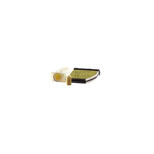 MANN-FILTER Ölfilter, Luftfilter und Polyphenol Innenraumluftfilter VSF0345MAN