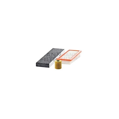 MANN-FILTER Ölfilter, Luftfilter und Aktivkohle Innenraumluftfilter VSF0412MAN