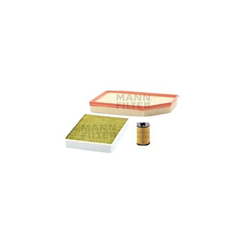 MANN-FILTER Filter Satz, Öl-,Luft und Innenraum-Filter Polyphenol VSF0141MAN