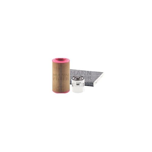MANN-FILTER Filter Satz, Öl-,Luft und Innenraum Aktivkohle-Filter VSF0129MAN