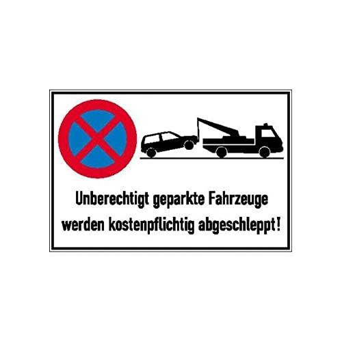 Sign Safety Parkverbotschild Alu 600X400 mm 11.5173
