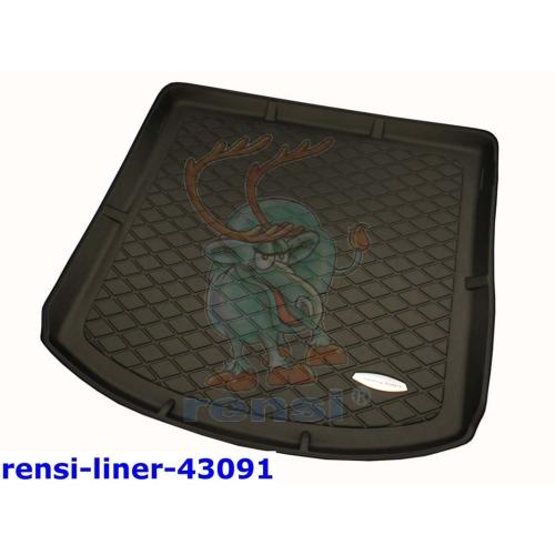 RENSI 43091 Kofferraumschalenmatte 5-Sitz. mit Ladeboden/7-Sitz. 3. SR versenkt