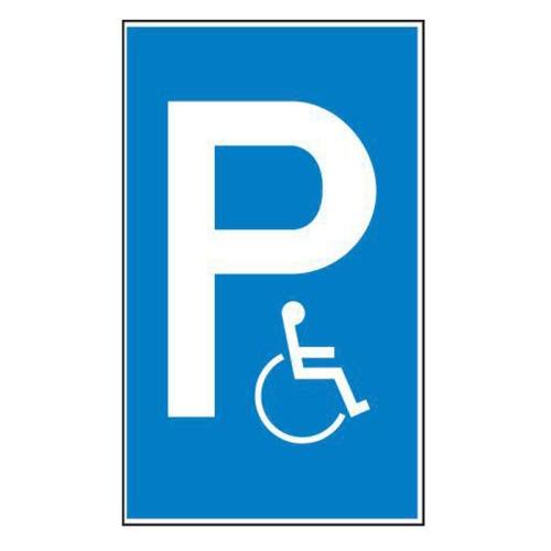 """Sign Safety parking sign """"Handicapped Parking"""" 41.5138"""