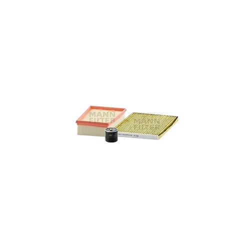 MANN-FILTER Ölfilter, Luftfilter und Polyphenol Innenraumluftfilter VSF0433MAN
