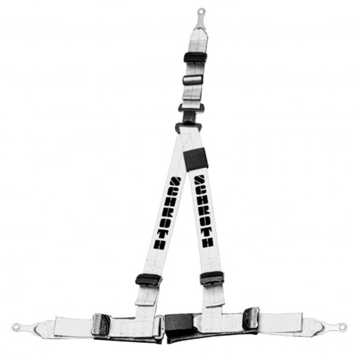 Schroth Safety belt Rally 3ASM silver static harness 1 piece right 10019