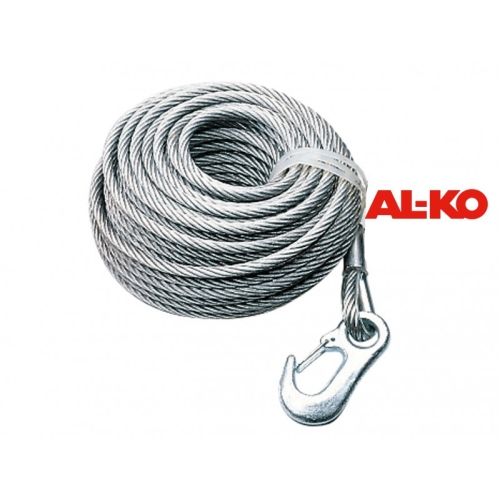 AL-KO Trailerparts Steel cable for winch 351 Plus art.nr.:1730137