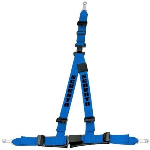 Schroth Safety Gurt Rallye 3 ASM blau Statik Hosenträgergurt rechts 10511