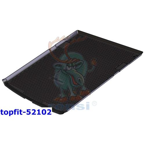 RENSI 52102 Kofferraumschalenmatte 5-Sitzer/7-Sitzer 3. SR flach Gewicht 1750 g