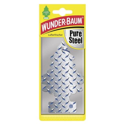 Wunderbaum Lufterfrischer Pure Steel 7294