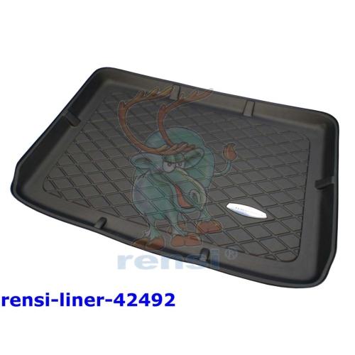 RENSI 42492 Kofferraumschalenmatte mit vari. Ladeboden Gewicht 1400 g