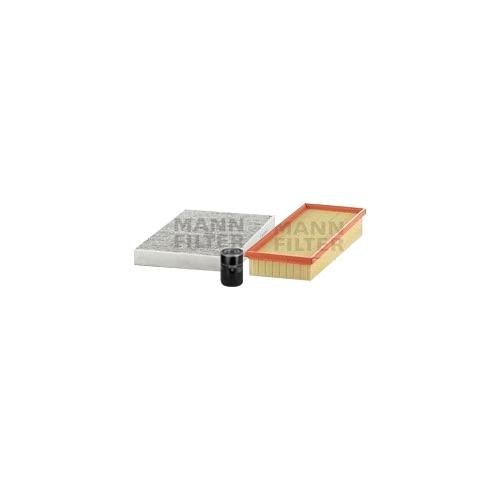 MANN-FILTER Filter Satz, Öl-,Luft und Innenraum Aktivkohle-Filter VSF0260MAN